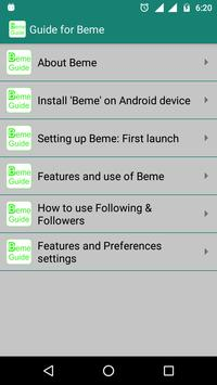 Guide For Beme poster