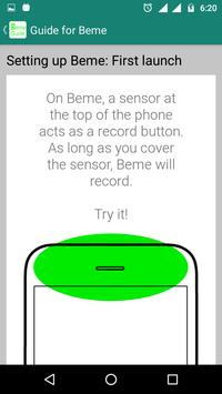 Guide For Beme apk screenshot