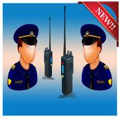 Radio Police Wifi icon