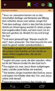 Gute Nachricht Bibel apk screenshot