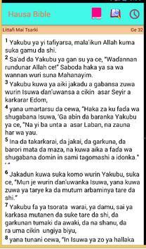 Hausa Bible Littafi Mai Tsarki poster