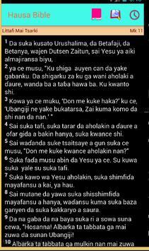 Hausa Bible Littafi Mai Tsarki apk screenshot