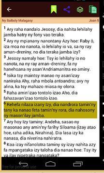 Ny Baiboly Malagasy apk screenshot