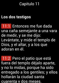 Biblia en Español Reina Valera apk screenshot