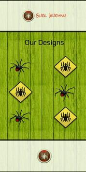 Tropical Garden Plants Design poster