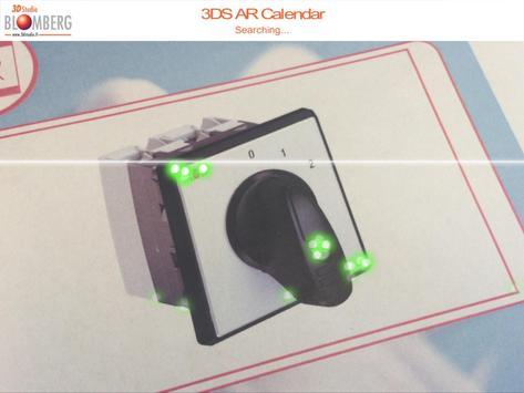 3DS AR Calendar poster
