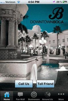 Downtown Boca poster