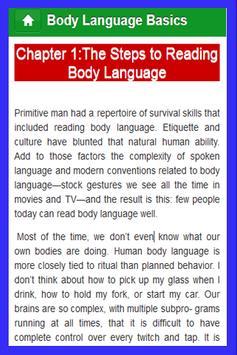 Body Language Basics apk screenshot