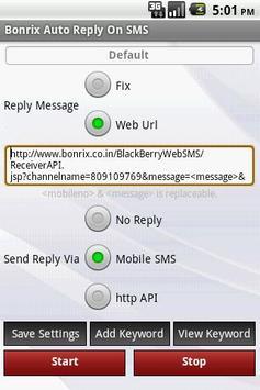 Bonrix Longcode AutoReply SMS poster