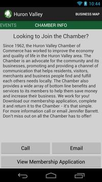 Huron Valley Chamber apk screenshot