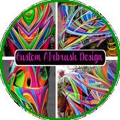 Airbrush Graphic Design icon