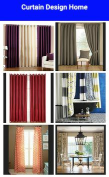 Curtain Design Home poster