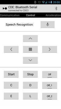 Bluetooth Serial Communication apk screenshot