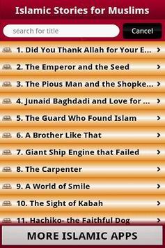 Islamic Stories For Muslims apk screenshot