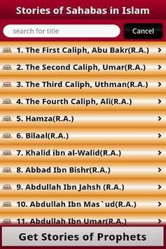 Stories of Sahabas in Islam apk screenshot
