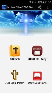 Jubilee Bible 2000 Study poster