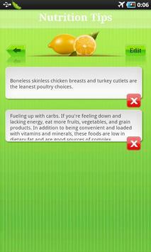 Nutrition Tip apk screenshot