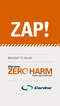 Cardno ZAP! poster