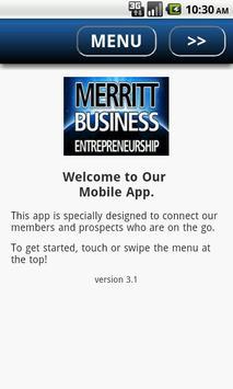 Merritt College Business poster