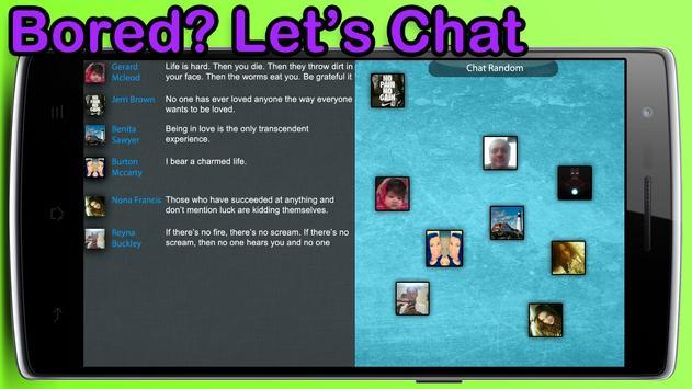 Chat Random apk screenshot