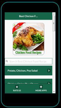 Chicken Food Recipes apk screenshot