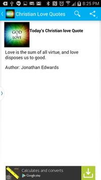 Christian Love Quotes - Daily poster