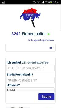Firmascout.ch poster