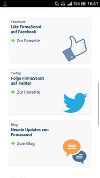 Firmascout.ch apk screenshot