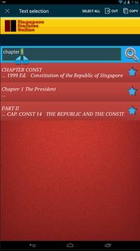 Singapore Constitution apk screenshot