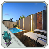 Pool Privacy Fence Design icon