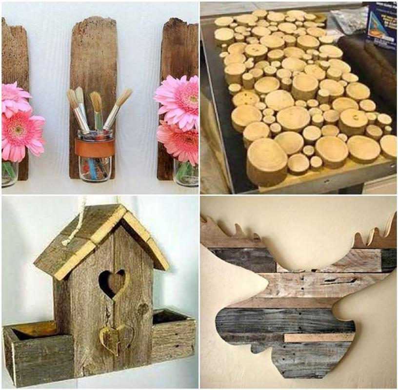 Diy wood craft project apk download free lifestyle app for Craft ideas from wood