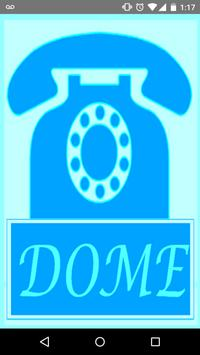 DOME World Call - free calls poster