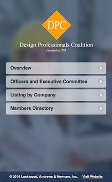 Design Professionals Coalition poster