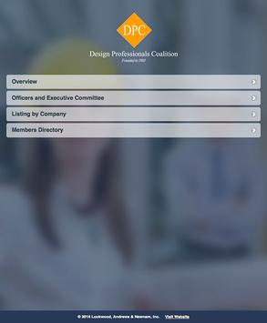 Design Professionals Coalition apk screenshot