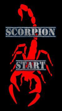 Scorpio on the screen poster
