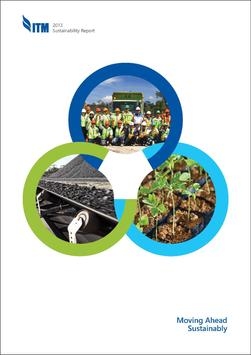 ITM 2013 Sustainability Report poster