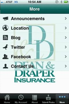 Dean & Draper Insurance Agency apk screenshot