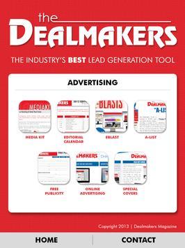 Dealmakers Magazine apk screenshot