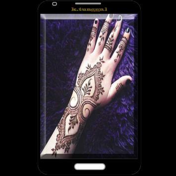 Bridal Henna Design poster