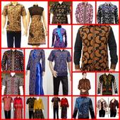 Batik Men's Shirt Design icon