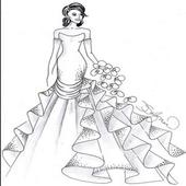 Design Women's Wedding Gown icon