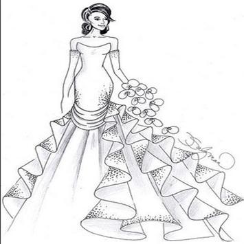 Design Women's Wedding Gown poster