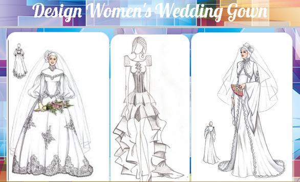 Design Women's Wedding Gown apk screenshot