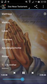 Bible Audio in German apk screenshot