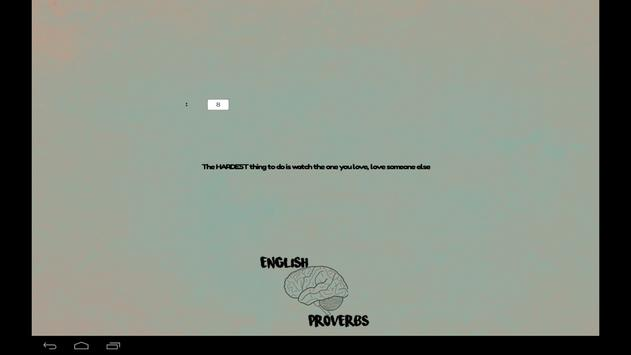 English Proverbs apk screenshot