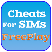Cheats for The Sims Freeplay icon