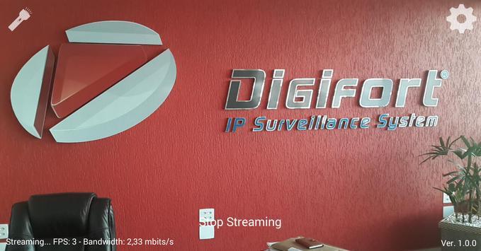 Digifort Mobile Camera apk screenshot
