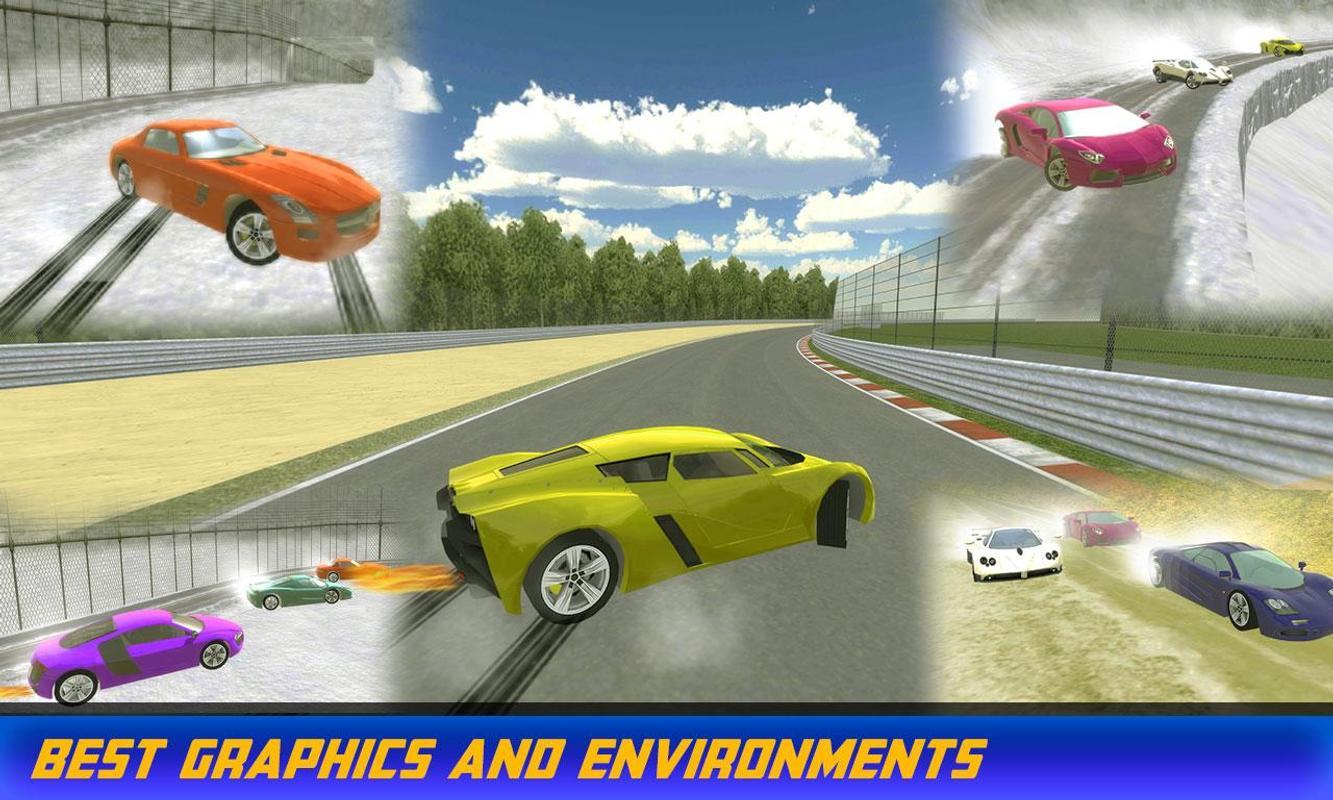 Sports Car Drift Rac