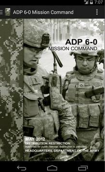 ADP 6-0 Mission Command poster