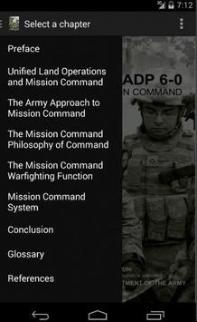 ADP 6-0 Mission Command apk screenshot